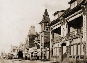 De Boulevard de Favauge rond 1900