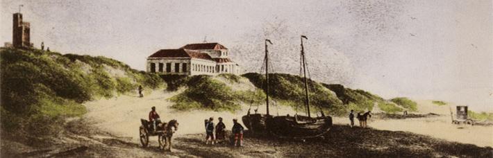 Hotel Groot Badhuis print