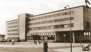 Das Hotel Bouwes in 1953