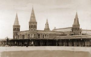 Het originele Kurhaus omstreeks 1885