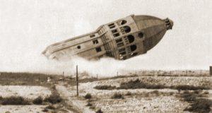 Zerstörung des alten Wasserturms in 1943