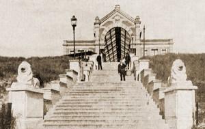 Uitzicht vanaf Station 1904