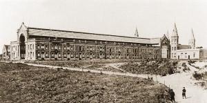 De Passage naast het originele Kurhaus circa 1890