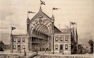 De Passage schets 1900
