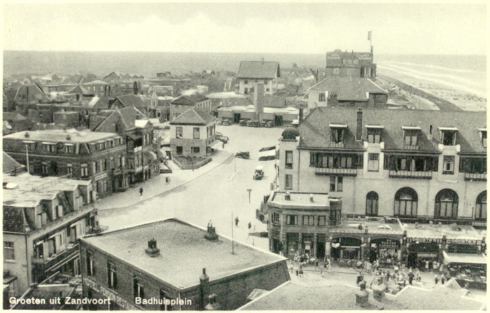 The Badhuisplein from the old Water tower