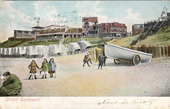 Der Strand von Zandvoort – am Strandweg