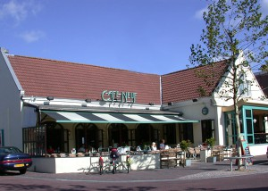 Café Neuf on Haltestraat
