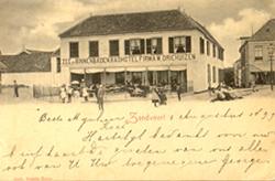 Alte Zandvoort postkarte - Hotel Driehuizen