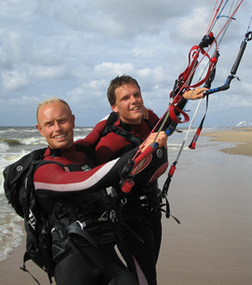 Okke Engels writer of these kitesurfing faqs