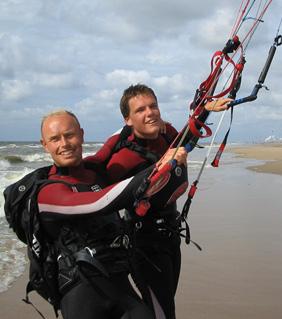 Okke Engels writer of these kitesurfing faqs