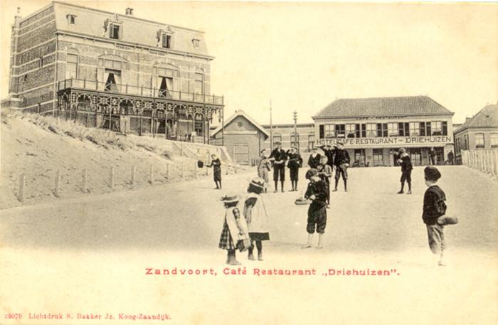 Hotel Driehuizen – Blick vom Strandweg