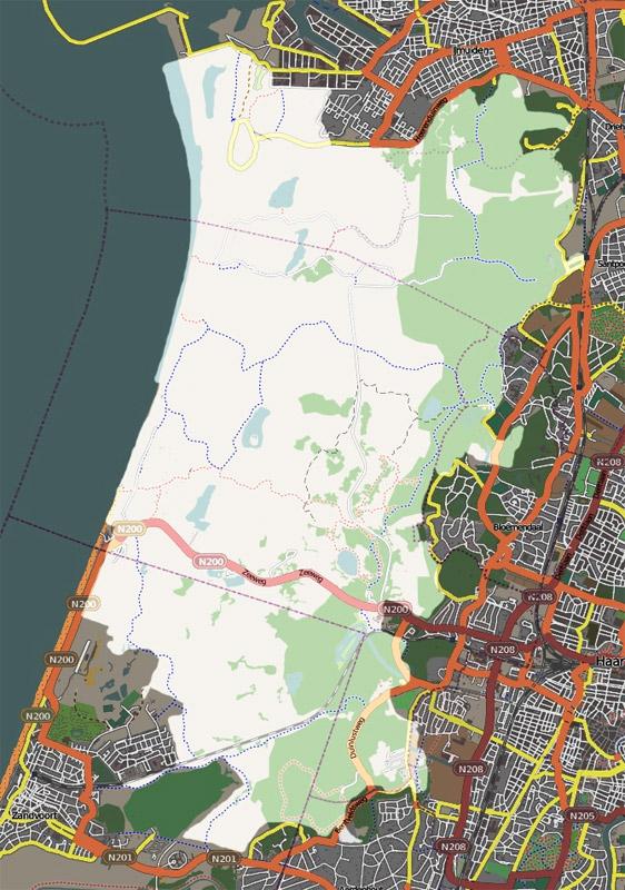 Zuid-Kennemerland area of dunes
