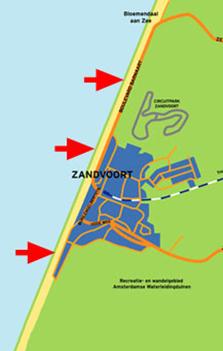 Kitesurfing Zonen in Zandvoort
