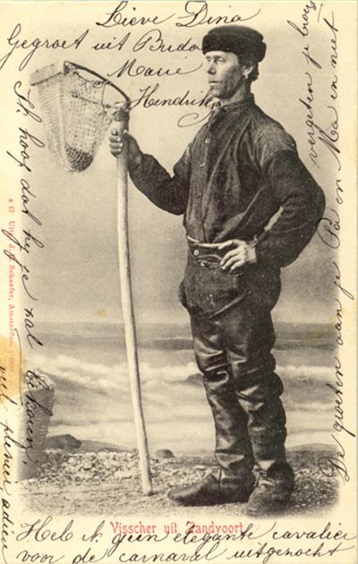 Traditionelle Fische um ca. 1900.