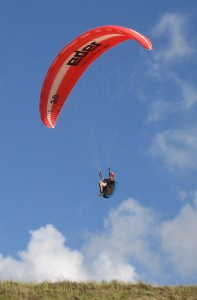 Paragliden in Zandvoort