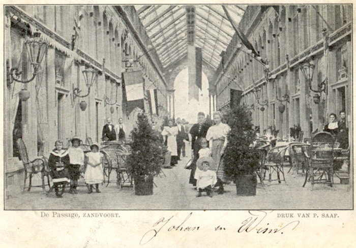 The Passage - photo circa 1900