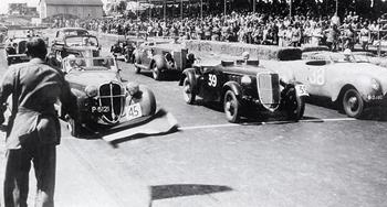 Het oude Zandvoort Circuit zirka 1939