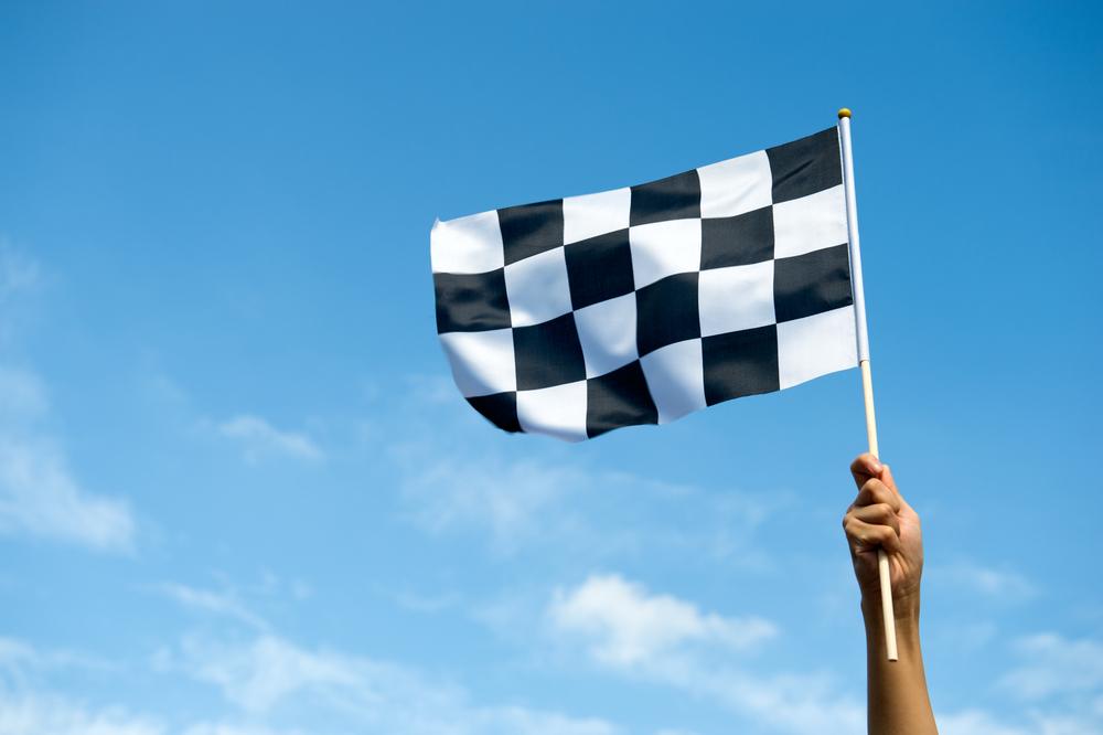 Racetrack flag