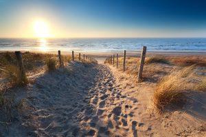 Sonnenuntergang am Strand von Zandvoort