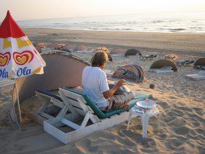 Chillen op Zandvoortse Strand